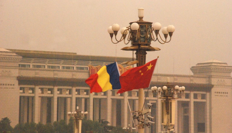 China - Romania, Piata Tian Anmen, septembrie 2014