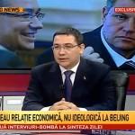 Antena 3 - Victor Ponta despre China, Rusia, R Moldova