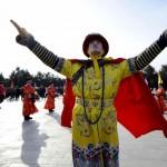 Ceremonial imperial la Templul  Cerului din Beijing, februarie 2015 A