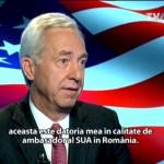 Hans Klemm, TVR 01.07.2016 - asta este datoria mea in calitate de ambasador SUA in Romania