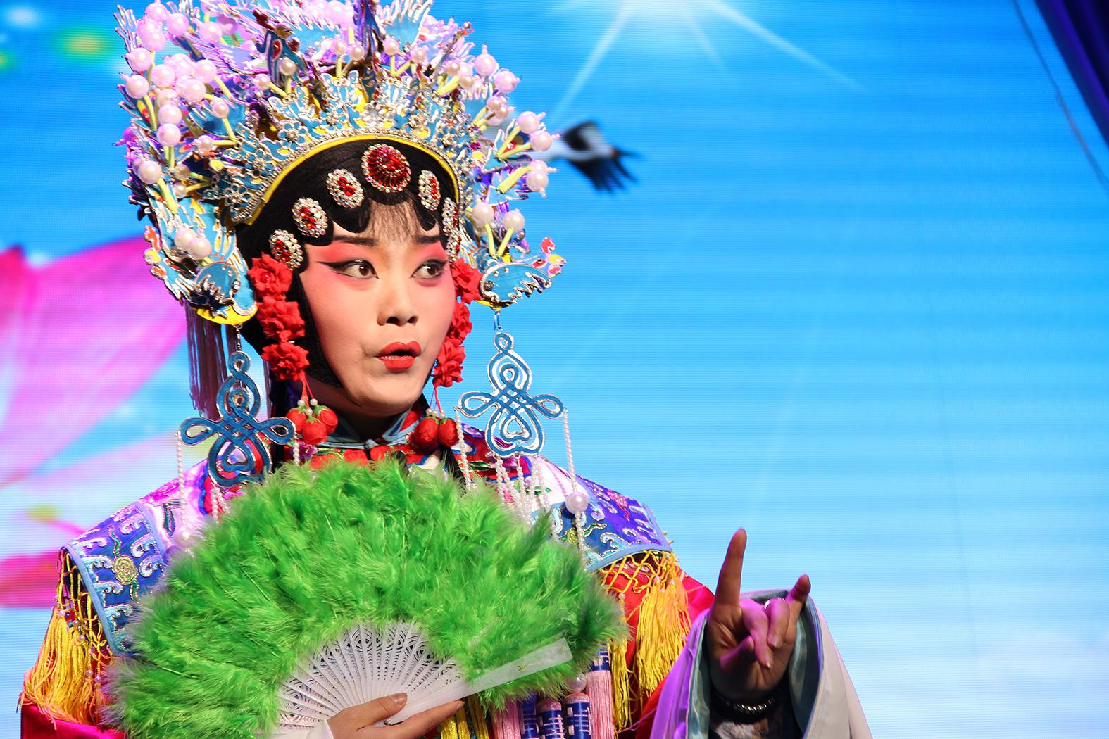 Opera in stil Beijing la Baoji_dantomozeiRO 1