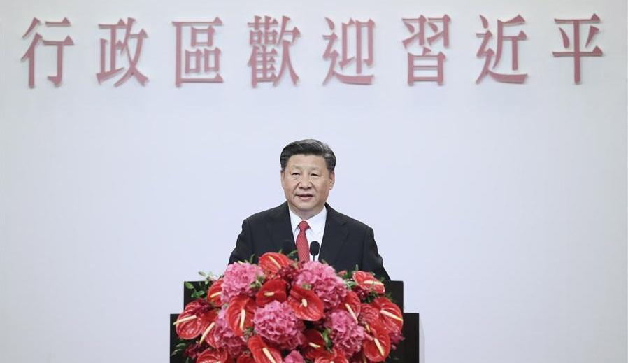 Hong Kong - Xi Jinping